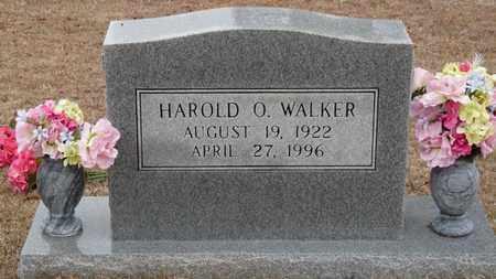 WALKER, HAROLD O'DELL - Tishomingo County, Mississippi | HAROLD O'DELL WALKER - Mississippi Gravestone Photos