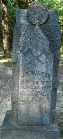 WALKER, J.T. - Tishomingo County, Mississippi   J.T. WALKER - Mississippi Gravestone Photos