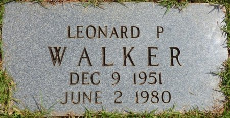 WALKER, LEONARD P - Tishomingo County, Mississippi | LEONARD P WALKER - Mississippi Gravestone Photos