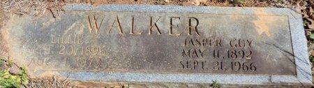 WALKER, LILLIE - Tishomingo County, Mississippi   LILLIE WALKER - Mississippi Gravestone Photos