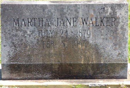 WALKER, MARTHA JANE - Tishomingo County, Mississippi   MARTHA JANE WALKER - Mississippi Gravestone Photos