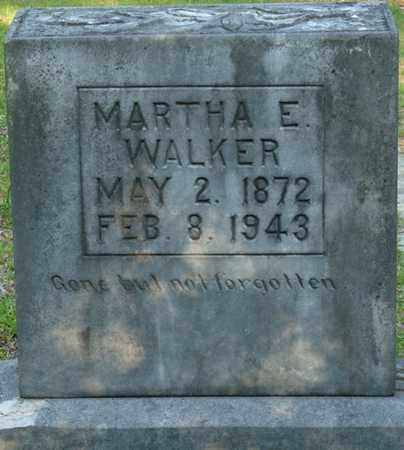 WALKER, MARTHA E - Tishomingo County, Mississippi | MARTHA E WALKER - Mississippi Gravestone Photos