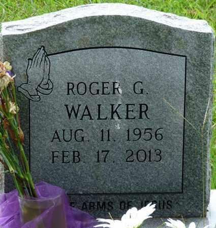WALKER, ROGER G - Tishomingo County, Mississippi   ROGER G WALKER - Mississippi Gravestone Photos