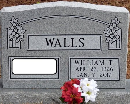 WALLS, WILLIAM T - Tishomingo County, Mississippi | WILLIAM T WALLS - Mississippi Gravestone Photos