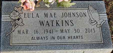 WATKINS, EULA MAE JOHNSON - Tishomingo County, Mississippi   EULA MAE JOHNSON WATKINS - Mississippi Gravestone Photos