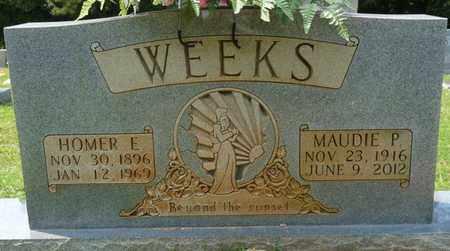 WEEKS, HOMER E - Tishomingo County, Mississippi | HOMER E WEEKS - Mississippi Gravestone Photos