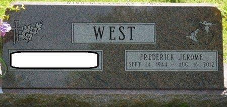 WEST, FREDERICK JEROME - Tishomingo County, Mississippi   FREDERICK JEROME WEST - Mississippi Gravestone Photos
