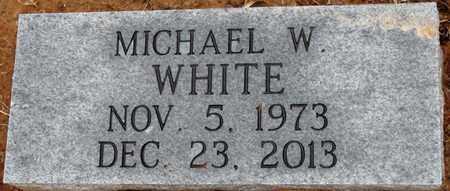 WHITE, MICHAEL W - Tishomingo County, Mississippi | MICHAEL W WHITE - Mississippi Gravestone Photos