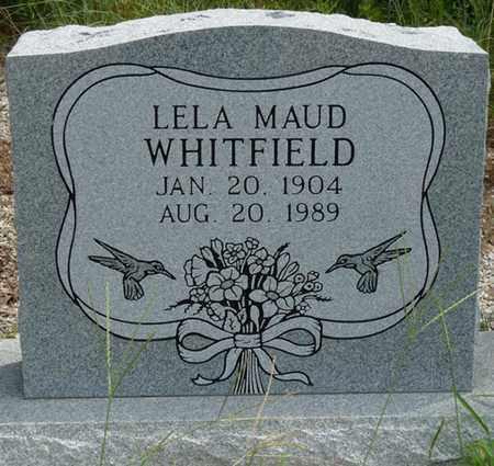 WHITFIELD, LELA MAUD - Tishomingo County, Mississippi   LELA MAUD WHITFIELD - Mississippi Gravestone Photos