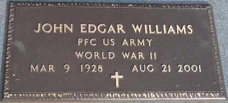 WILLIAMS (VETERAN WWII), JOHN EDGAR - Tishomingo County, Mississippi | JOHN EDGAR WILLIAMS (VETERAN WWII) - Mississippi Gravestone Photos