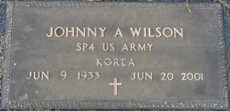 WILSON (VETERAN KOR), JOHNNY A - Tishomingo County, Mississippi   JOHNNY A WILSON (VETERAN KOR) - Mississippi Gravestone Photos
