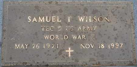 WILSON (VETERAN WWII), SAMUEL T - Tishomingo County, Mississippi | SAMUEL T WILSON (VETERAN WWII) - Mississippi Gravestone Photos