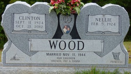 WOOD, NELLIE P. - Tishomingo County, Mississippi | NELLIE P. WOOD - Mississippi Gravestone Photos
