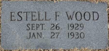 WOOD, ESTELL F - Tishomingo County, Mississippi | ESTELL F WOOD - Mississippi Gravestone Photos