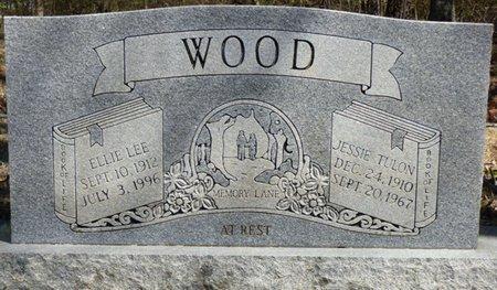 WOOD, JESSIE TULON - Tishomingo County, Mississippi | JESSIE TULON WOOD - Mississippi Gravestone Photos