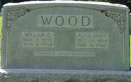 WOOD, ALICE - Tishomingo County, Mississippi | ALICE WOOD - Mississippi Gravestone Photos