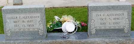 BRISTER ALEXANDER, EVA C - Walthall County, Mississippi | EVA C BRISTER ALEXANDER - Mississippi Gravestone Photos