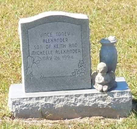 ALEXANDER, VINCE TONEY - Walthall County, Mississippi | VINCE TONEY ALEXANDER - Mississippi Gravestone Photos