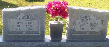 ALFORD, J ALVIN - Walthall County, Mississippi   J ALVIN ALFORD - Mississippi Gravestone Photos