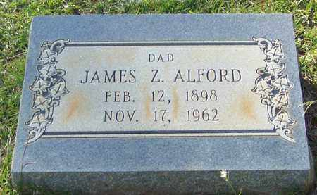 ALFORD, JAMES ZENIPHON - Walthall County, Mississippi | JAMES ZENIPHON ALFORD - Mississippi Gravestone Photos