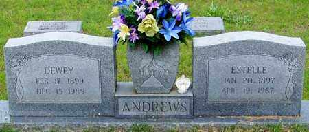 ANDREWS, ESTELLE F - Walthall County, Mississippi | ESTELLE F ANDREWS - Mississippi Gravestone Photos