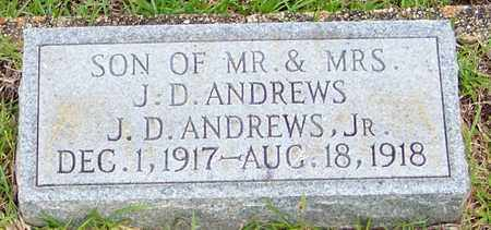 ANDREWS, JAMES DEWEY JR - Walthall County, Mississippi | JAMES DEWEY JR ANDREWS - Mississippi Gravestone Photos
