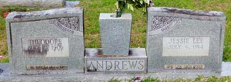 ANDREWS, JESSIE LEE - Walthall County, Mississippi | JESSIE LEE ANDREWS - Mississippi Gravestone Photos
