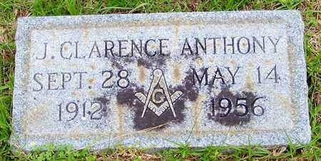 ANTHONY (CLOSE UP), JAMES CLARENCE - Walthall County, Mississippi | JAMES CLARENCE ANTHONY (CLOSE UP) - Mississippi Gravestone Photos