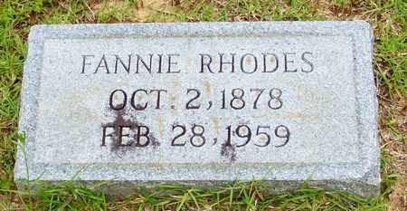 RHODES ANTHONY, FANNIE - Walthall County, Mississippi | FANNIE RHODES ANTHONY - Mississippi Gravestone Photos