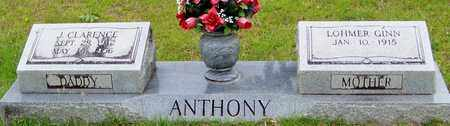 ANTHONY, JAMES CLARENCE - Walthall County, Mississippi | JAMES CLARENCE ANTHONY - Mississippi Gravestone Photos