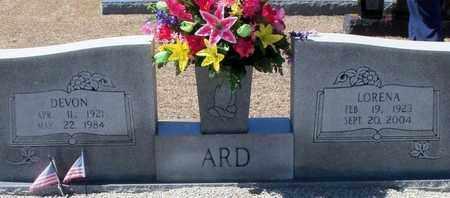 ARD, DEVON - Walthall County, Mississippi | DEVON ARD - Mississippi Gravestone Photos