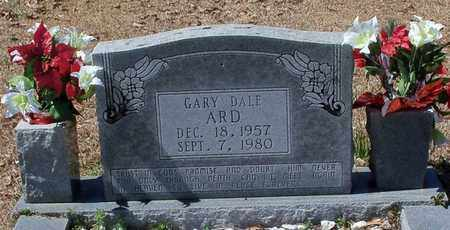 ARD, GARY DALE - Walthall County, Mississippi | GARY DALE ARD - Mississippi Gravestone Photos