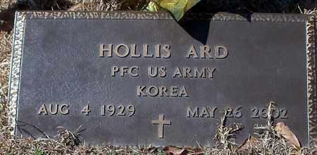 ARD (VETERAN KOR), HOLLIS - Walthall County, Mississippi   HOLLIS ARD (VETERAN KOR) - Mississippi Gravestone Photos