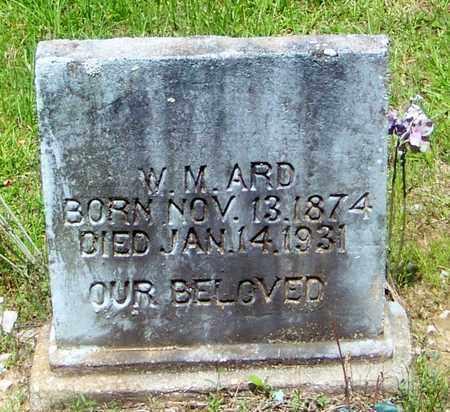 ARD, W M - Walthall County, Mississippi | W M ARD - Mississippi Gravestone Photos