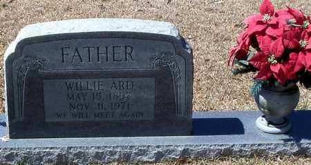 ARD, WILLIE - Walthall County, Mississippi   WILLIE ARD - Mississippi Gravestone Photos