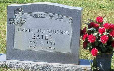 STOGNER BATES, JIMMIE LOU - Walthall County, Mississippi | JIMMIE LOU STOGNER BATES - Mississippi Gravestone Photos