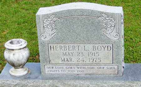 BOYD, HERBERT L - Walthall County, Mississippi | HERBERT L BOYD - Mississippi Gravestone Photos