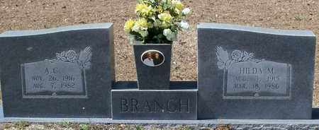 BRANCH, A C - Walthall County, Mississippi | A C BRANCH - Mississippi Gravestone Photos