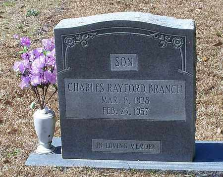 BRANCH, CHARLES RAYFORD - Walthall County, Mississippi | CHARLES RAYFORD BRANCH - Mississippi Gravestone Photos