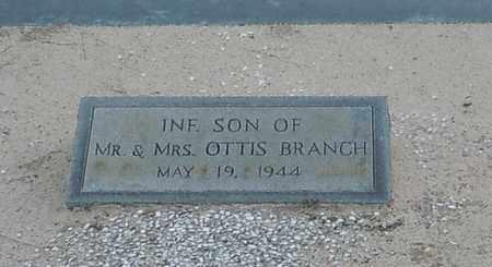 BRANCH, INFANT - Walthall County, Mississippi   INFANT BRANCH - Mississippi Gravestone Photos
