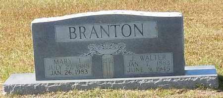 TERRELL BRANTON, MARY EVALINE - Walthall County, Mississippi | MARY EVALINE TERRELL BRANTON - Mississippi Gravestone Photos