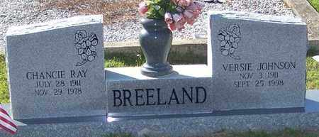 JOHNSON BREELAND, VERSIE - Walthall County, Mississippi   VERSIE JOHNSON BREELAND - Mississippi Gravestone Photos