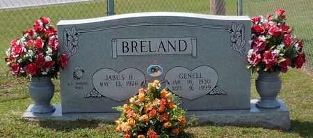 BRELAND, GENELL - Walthall County, Mississippi | GENELL BRELAND - Mississippi Gravestone Photos