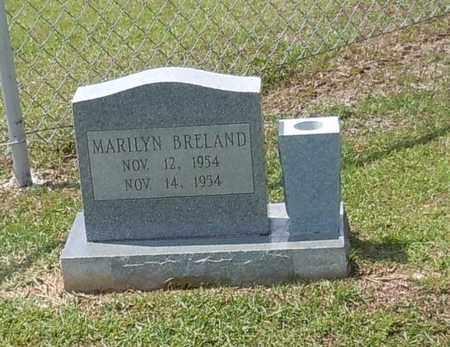 BRELAND, MARILYN - Walthall County, Mississippi | MARILYN BRELAND - Mississippi Gravestone Photos