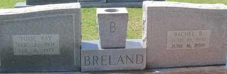 BRELAND, RACHEL B - Walthall County, Mississippi | RACHEL B BRELAND - Mississippi Gravestone Photos