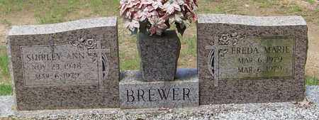 BREWER, SHIRLEY ANN - Walthall County, Mississippi | SHIRLEY ANN BREWER - Mississippi Gravestone Photos