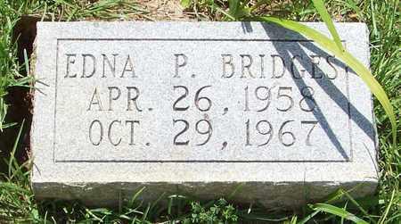 BRIDGES, EDNA P - Walthall County, Mississippi   EDNA P BRIDGES - Mississippi Gravestone Photos