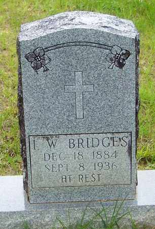 BRIDGES, I W - Walthall County, Mississippi | I W BRIDGES - Mississippi Gravestone Photos