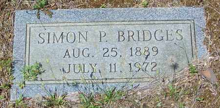 BRIDGES, SIMON P - Walthall County, Mississippi | SIMON P BRIDGES - Mississippi Gravestone Photos