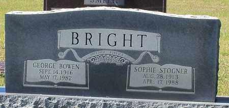 BRIGHT, GEORGE BOWEN - Walthall County, Mississippi | GEORGE BOWEN BRIGHT - Mississippi Gravestone Photos